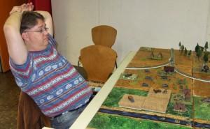 Fehlende Achselnässe verrät: Ein entspanntes Spiel (Johannes)